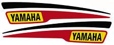 Tankdekor YAMAHA KEDO-Edition 'B-Track' Noir/Rouge/Jaune fuel tank Décalque sr500