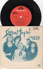 STREET ANGEL Caught In The Act / Psycho Killer *AUSSIE POST PUNK NEW WAVE 1980*