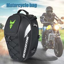 Motorcycle Bike Sports Waterproof Back Seat Carry Bag Luggage Tail Bag J7Ix