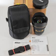 Nikon AF-S Nikkor 14-24mm f/2,8G ED Nano// wie neu // komplett //vom Fotohändler