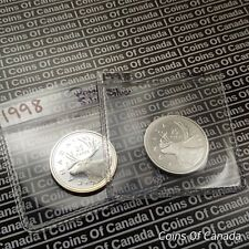 1998 Canada 25 Cents Quarter - SILVER PROOF - Multiple Available #coinsofcanada