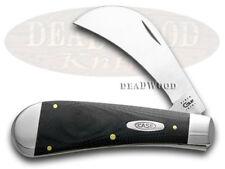 CASE XX Black G10 Hawkbill Pruner Pocket Knife Knives