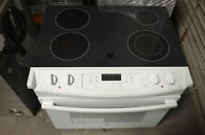 "Ge 30"" White Drop In Electric Range Jd630Dfww"
