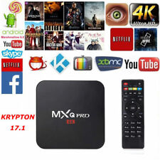 NEW MXQ  6.0 TV BOX 4K Quad Core HD 1080p WIFI HDMI Player Latest 16.0