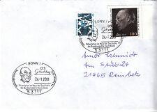 SST 125. Geburtstag Konrad Adenauer mit MiNr. 1347A, 1601