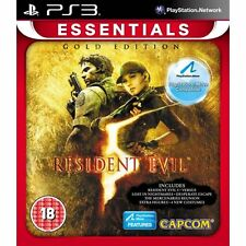 Resident Evil 5 Gold Edition EssentialsVersion PAL UK NEW FACTORY SEALED ALL DLC