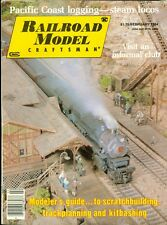 1984 Railroad Model Craftsman Magazine: Guide to Scratchbuilding/Pacific Coast