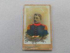 CDV Bamberg Offizier Inf. Reg. Nr.5 Bamberg 1906 teils HANDCOLORIERT Militaria