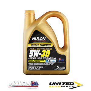 NULON Full Synthetic 5W-30 Diesel Formula Long Life Engine Oil 5L for BMW 520d