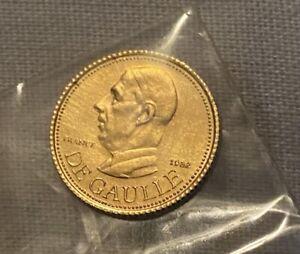 Médaille General de Gaulle - 1982
