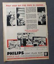 PUB PUBLICITE ANCIENNE ADVERT CLIPPING 31817 BOITE MONTAGE ELECTRONIQUE PHILIPS