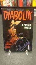 """Diabolik """"A Prima Vista"""" Moncalieri Comics 2009 albetto inedito!"""