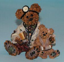 """Boyds Bears, """"Dr. Harrison Griz.Md, Phd, Bud"""" # 228309 Nib 1998 resin 1st ed."""