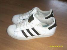 Adidas superstar blanco para hombre O Niños Zapatillas Tamaño 4