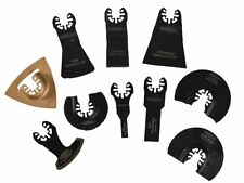 Faithfull - Multi-Function Tool Blade Set of 10 -