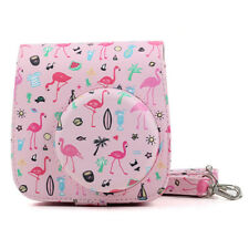 Flamingo PU Leather Instant Film Camera Case Bag for Fujifilm Instax Mini 8/8+/9