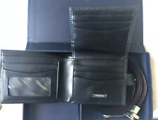 Jasper Conran Belt And Wallet Set Genuine Leather
