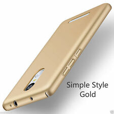 FOR (Xiaomi Redmi Note 3) 4 Cut iPaky Hard Matte Back Case Cover -gold