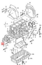 radial shaft Seal AUDI VW Audi 100 quattro 200 4000 5000 Turbo 80 90 054115147B