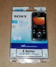 Sony 4 GB E Series Walkman Video MP3 FM Black Player Missing USB Cord