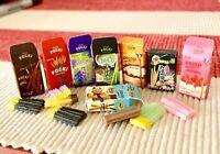 Mini Pocki! Set of 8 - Miniature dollhouse 1:12 Little Shop Mini Brands