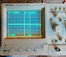 Tektronix TAS220 Analog Oscilloscope  Works , Has Power cord Clean condition