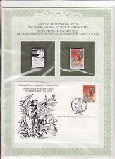 enveloppe timbre neuf et argent association receveurs de la poste  Portugal 8,50