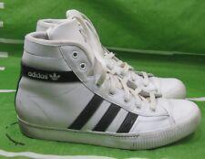 low priced a8e02 7864c adidas 913907 Aditennis Hi Lux WHITE BLACK STRAP Size 11.5