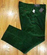 Polo Ralph Lauren Mens Preston Fit Corduroy Pants Sz 30X31 Green $145 THESPOT917