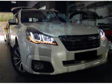Xenon LED Double U-shaped Angel Eye Refit For Subaru Legacy Outback 2010-2014
