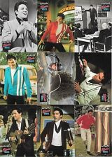 ELVIS PRESLEY SERIES 1 TRADING CARDS SET + SET OF 6 WRAPPERS + SET OF 4 MAIL-INS