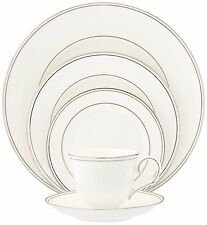 LENOX FEDERAL PLATINUM BONE CHINA 5PC Place Setting Service - NEW IN BOX