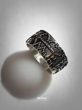 Sterling Silver 925 Ring by Ezi Zino Astronomy Seti The 2001 Answer to 'Arecibo'
