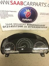 SAAB 95 9-5 1.9 tid speedo instrument panel rev counter etc 117,000 miles
