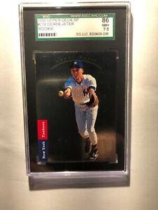 1993 Upper Deck SP Derek Jeter Rookie card #279 SGC 86 Near Mint+