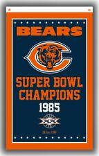 Chicago Bears Football Team Champion Memorable Flag 90x150cm 3x5ft Super Banner