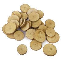 Wood Log Slices Discs 30pcs 3-4CM for DIY Crafts Wedding Centerpieces S9X6 O5U1