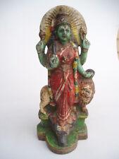 INDIA - GLAZED CERAMIC GODDESS