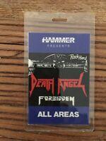 DEATH ANGEL & Forbidden Original Tour-Pass Deutschland Tour Anfang der 90 ´iger.