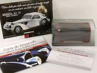PRL) 2010 BUGATTI COUPE' ATLANTIC SILVER CARS COLLECTION ATLAS 1:43 AUTO MODEL