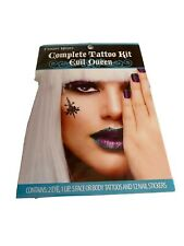Fright Night Evil Queen Complete Tattoo Kit Eyes Lips Nails