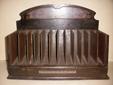 ANTIQUE ADVERTISING STORE COUNTER DISPLAY CABINET PRO PHY LAC TIC TOOTH BRUSH