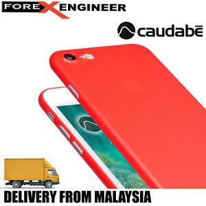 Caudabe The Veil XT for iPhone 7 - Red