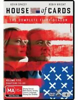 House Of Cards : Season 5 (DVD, 2017, 4-Disc Set) (Region 4) New Release