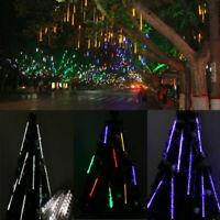 Meteor Shower Rain Drop Icicle Waterproof LED Xmas Tree Garden String Light US