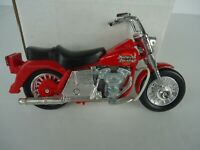 Red Motorcycle Model Toy Diecast Harley Davidson Style Die Cast
