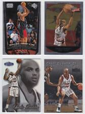 (4) Charles Barkley Assorted Card Lot HOUSTON ROCKETS