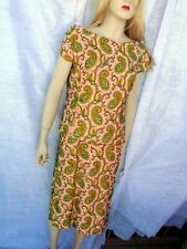 1950'S Vintage Womens Semi Formal Beaded 2 Piece Dress, Made In British Crown Co