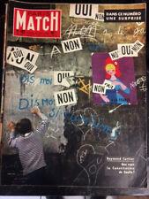 PARIS MATCH N°493 de 1958 - QUE VAUT LA CONSTITUTION DE GAULLE     CA108