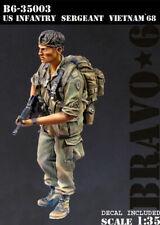 1/35 Scale Resin Figure kit U.S. Infantry Sergeant, Vietnam '68